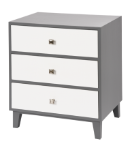 Alexander 3 Drawer Side Chest