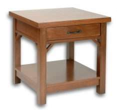Cottage End Table – Low