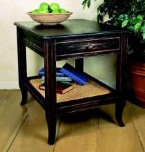 European Country End Table
