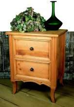 European Country Nightstand