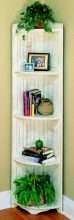 Heritage Tall Corner Shelf