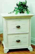 Heritage Nightstand with 2 Drawers