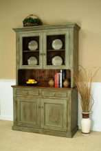 Lancaster Hutch with Glass Doors
