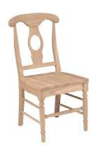 Milford Side Chair with Wood Seat