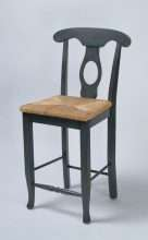 Milford Counter Stool with Woven Seat