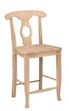 Milford Counter Stool with a Wood Seat