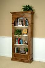 Regency Bookcase w/Drawer