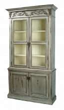 Regency Collectors Cabinet
