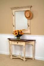 Regency Mirror with Hooks