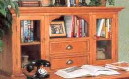 Hutch For Tuscan Desk