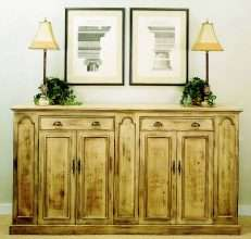 Tuscan Sideboard with 4 Doors