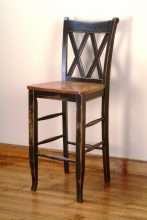 Crossback Bar Stool