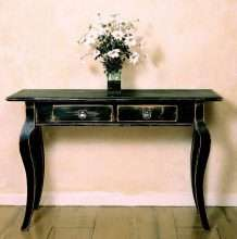 Cabriole Leg Sofa Table