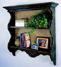 Catalina Wall Shelf with Cane