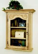 European Country Wall Cupboard