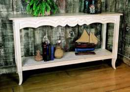 European Country Console Table