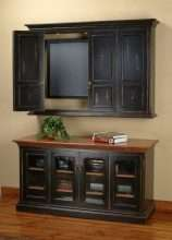 Hillsboro Flat Screen TV Wall-Mount Cabinet