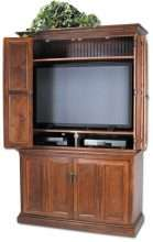 Hillsboro Flat Screen TV Hutch with Console