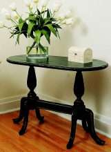 Oval Pedestal Table – 36″