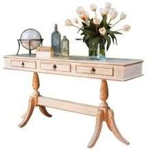 Pedestal Sofa Table