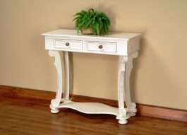 Scroll Leg Side Table