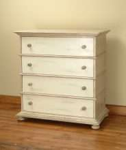 Provincial 4 Drawer Chest